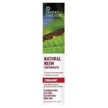 Desert Essence Zubní pasta NEEM, skořice a máta 176 g