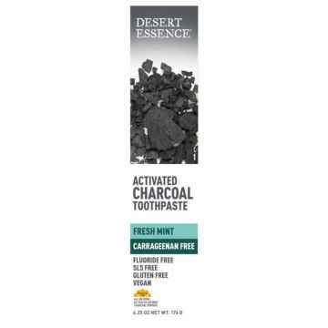 Desert Essence Zubní pasta s aktivním uhlím 176 g