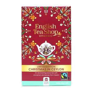 English Tea Shop Sada čajů Vánoce na Cejlonu, bio 40 g, 20 ks