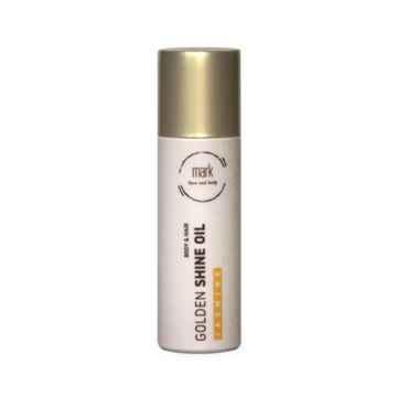 MARK face and body Přírodní tělový olej se zlatými třpytkami MARK Golden Shine oil, Exspirace 12/2021 80 ml