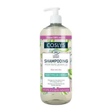 Coslys Šampon pro celou rodinu s aloe vera, Poškozeno (bez pumpičky) 1 l