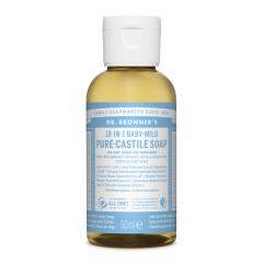 Dr. Bronner's Tekuté universální mýdlo ALL-ONE!, Baby-Mild 60 ml