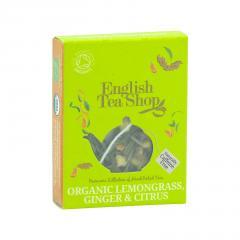 English Tea Shop Čaj citronová tráva, zázvor a citrusy, bio 2 g, 1 ks