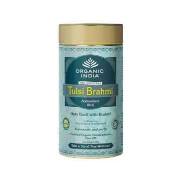 Organic India Čaj Tulsi Brahmi, sypaný 100 g