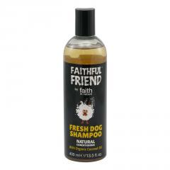 Faith in Nature Přírodní kokosový šampon pro psy Fresh Dog 400 ml