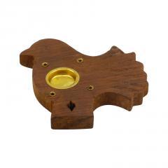 ostatní Stojánek dřevěný na vonné tyčinky, různé tvary 1 ks
