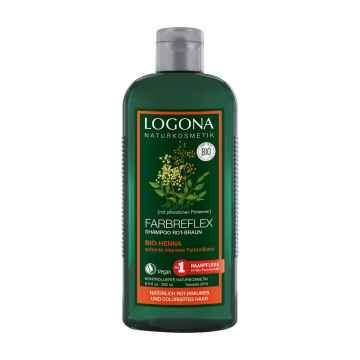 Logona Šampon pro barvené vlasy henna 250 ml