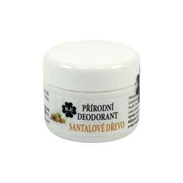 RaE Přírodní krémový deodorant s vůní santalového dřeva 15 ml náplň