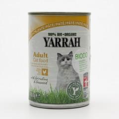 Yarrah Paté pro kočky kuřecí, Wellness 400 g
