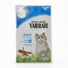 Yarrah Tyčinky s hovězím a rybím masem pro kočky 15 g