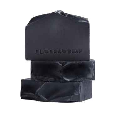 Almara Soap Mýdlo Black As My Soul 75 g