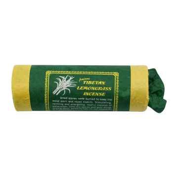 Mandala Art & Incense Vonné tyčinky tibetské Lemongrass 30 ks, stojánek