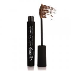 puroBIO cosmetics Řasenka prodlužující 03 Brown 6 ml