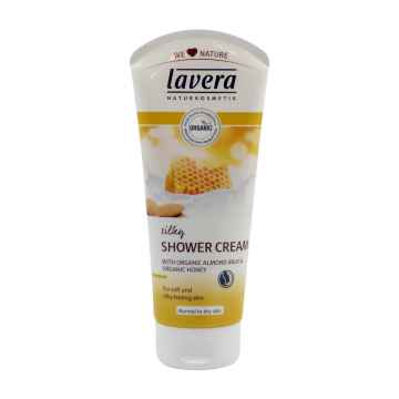 Lavera Sprchový krém mandlové mléko a med, Body Spa 200 ml