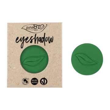 puroBIO cosmetics Minerální oční stíny 17 Green Grass 2,5 g náplň
