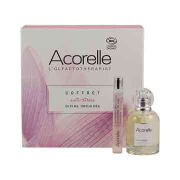 Acorelle Parfémová voda Orchidej, dárkový set 1 ks, (50 ml + 10 ml roll-on ZDARMA)