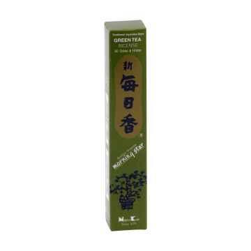 Nippon Kodo Vonné tyčinky japonské Morning Star Green Tea 50 ks