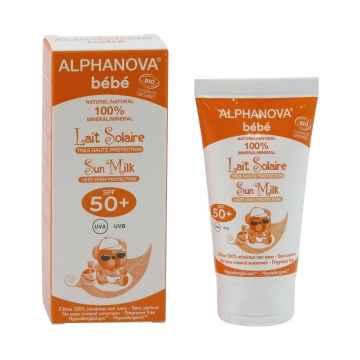 Alphanova Bébé Opalovací krém pro miminka SPF 50+ 50 ml