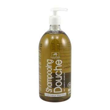 Naturado Sprchový šampon XXL máta 1 l