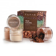 Faran Set minerálních dekorativních barev, True Colors Earth 13,5 ml
