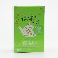 English Tea Shop Zelený čaj tropické ovoce 20 ks, 40 g