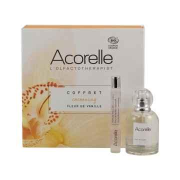 Acorelle Parfémová voda Květy vanilky, dárkový set 50 ml + 10 ml roll-on ZDARMA