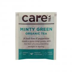 Care Tea Zelený čaj Minty Green 1 ks, 2 g