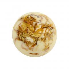 Ceano Cosmetics Krémová kulička do koupele vanilka 1 ks, 50 g