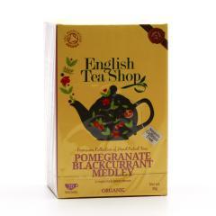 English Tea Shop Rooibos, granátové jablko a černý rybíz 20 ks, 30 g