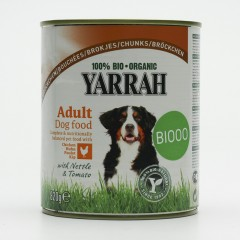 Yarrah Kousky kuřecí pro psy 820 g