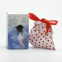 LadyCup Menstruační kalíšek L (větší), čirý 1 ks
