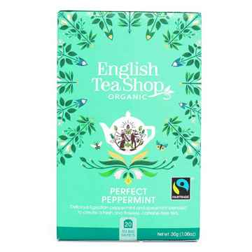 English Tea Shop Čaj máta, bio 30 g, 20 ks