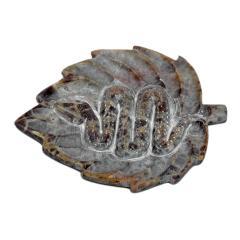 ostatní Stojánek kamenný na tyčinky a jehlánky, had 1 ks