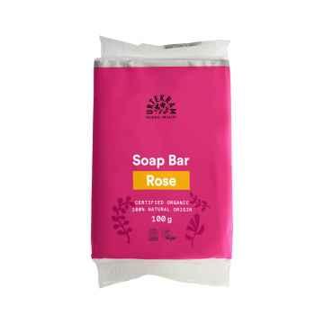 Urtekram Mýdlo růžové 100 g