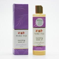 Pure Fiji Exotický masážní a koupelový olej, mučenka 236 ml