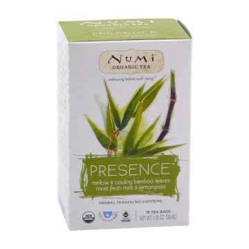 Numi Organic Tea Bylinný čaj Presence 38,4 g, 16 ks