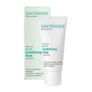Santaverde Matující fluid bez parfemace, Pure 30 ml