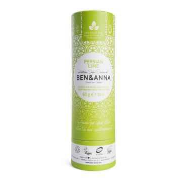 Ben & Anna Tuhý deodorant Persian Lime 60 g papírový obal