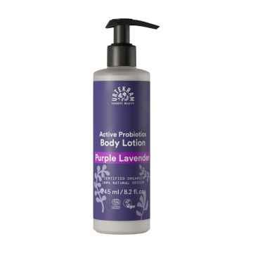 Urtekram Tělové mléko levandulové, Purple Lavender 245 ml