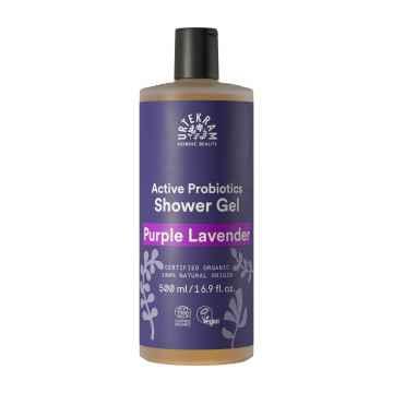 Urtekram Sprchový gel levandulový, Purple Lavender 500 ml