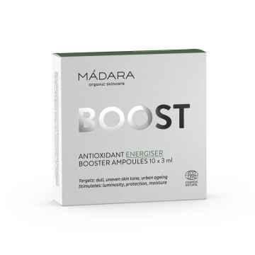 MÁDARA Energizující ampule s antioxidanty 10 x 3 ml