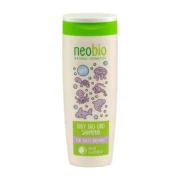 Neobio 2 v 1 koupel a šampon, Baby 250 ml