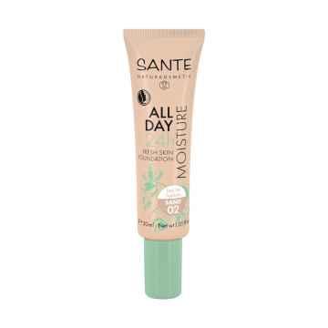 SANTE Hydratační 24h make-up 02, písková 30 ml