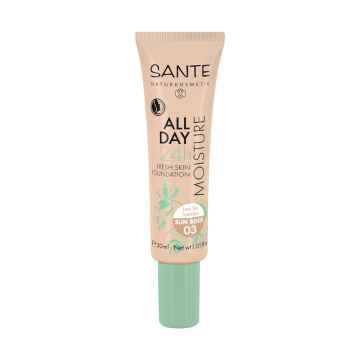 SANTE Hydratační 24h make-up 03, sluneční béžová 30 ml