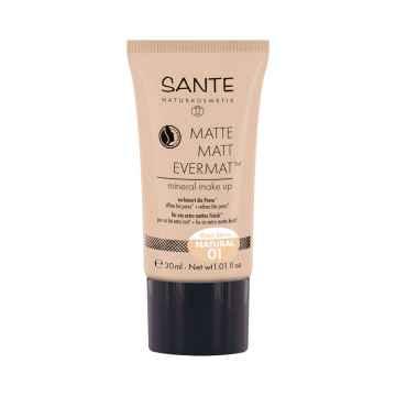 SANTE Matující make-up 01, přírodní 30 ml