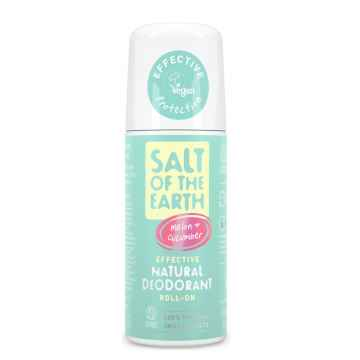 Salt of the Earth Deo roll-on meloun a okurka, Pure Aura 75 ml