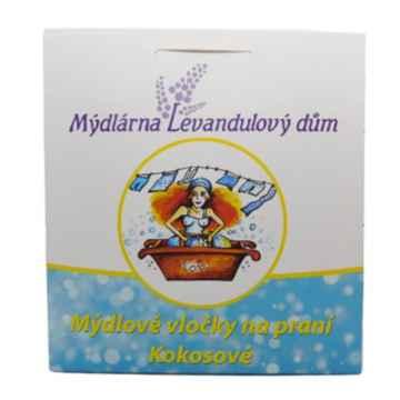 Mýdlárna Levandulový dům Mýdlové vločky na praní kokosové 400 g