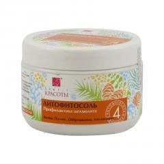 Hloubková hygiena kůže Litofyto-sůl formule 4, při celulitidě 450 g