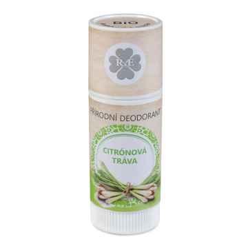 RaE Přírodní deodorant s vůní citrónové trávy 25 ml