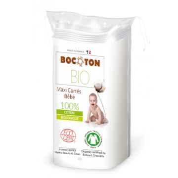 Bocoton Dětské čisticí tampony z biobavlny, Maxi 60 ks